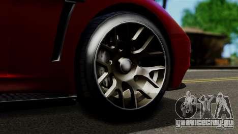 GTA 5 Dewbauchee Massacro Racecar (IVF) для GTA San Andreas вид справа