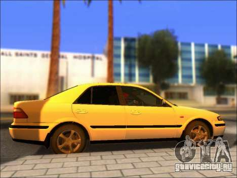 Mazda 626 для GTA San Andreas вид справа