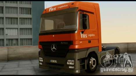 Mercedes-Benz Actros PJ1 для GTA San Andreas