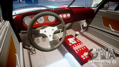 BMW 3.0 CSL Group4 [93] для GTA 4 вид изнутри