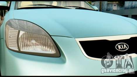 Kia Rio для GTA San Andreas вид справа
