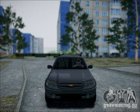Chevrolet Niva для GTA San Andreas вид слева