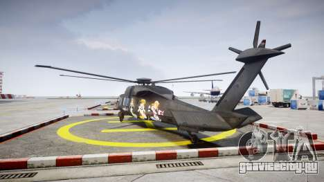 Sikorsky MH-X Silent Hawk [EPM] Printemps для GTA 4 вид сзади слева
