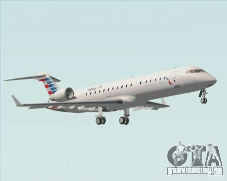Bombardier CRJ700 American Eagle Airlines для GTA San Andreas вид снизу