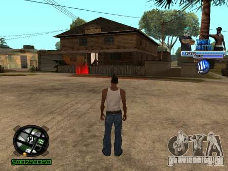С-Hud Tawer-Ghetto v1.6 Classic для GTA San Andreas четвёртый скриншот