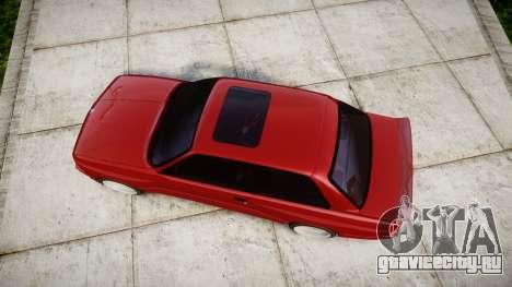 BMW E30 M3 для GTA 4 вид справа