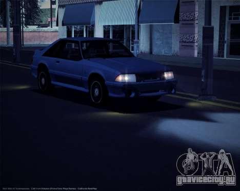 ENBSeries для слабых и средних ПК для GTA San Andreas второй скриншот