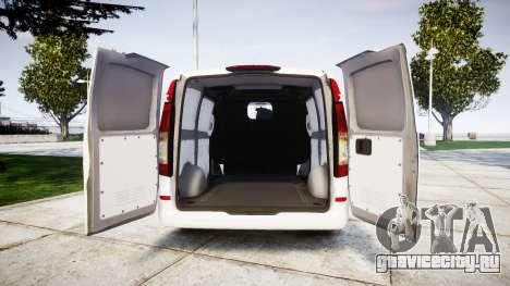 Mercedes-Benz Vito GIGN [ELS] для GTA 4 вид сзади
