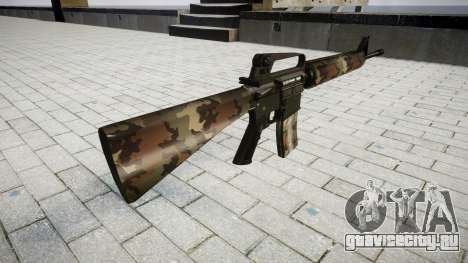 Винтовка M16A2 erdl для GTA 4 второй скриншот