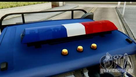 КамАЗ 65115 Эвакуатор ДПС для GTA San Andreas вид справа