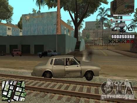 Nice C-HUD для GTA San Andreas четвёртый скриншот
