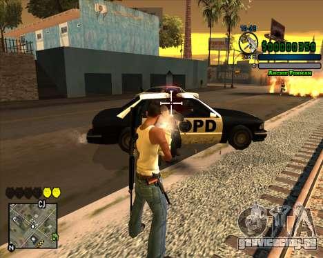 C-HUD Excellent для GTA San Andreas третий скриншот