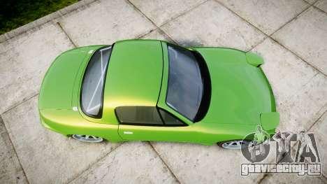 Mazda MX-7 для GTA 4 вид справа