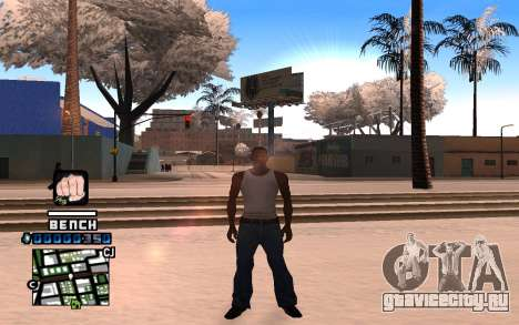 C-HUD Bench для GTA San Andreas