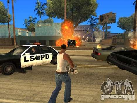 Overdose 1.6 New для GTA San Andreas четвёртый скриншот