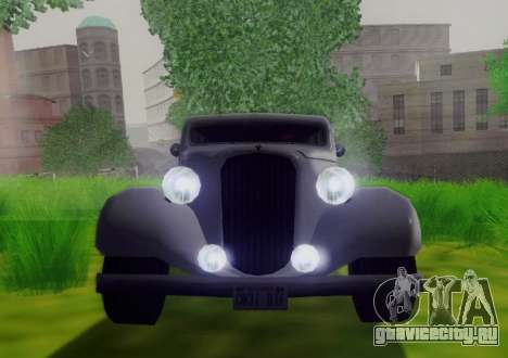 Hustler Limousine для GTA San Andreas вид сзади
