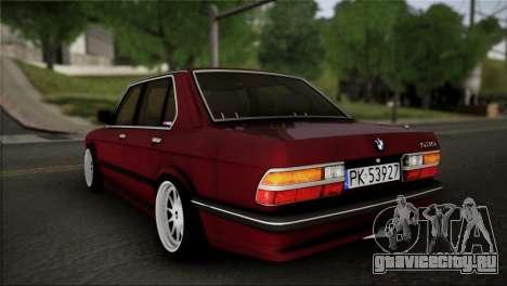 BMW M5 E28 для GTA San Andreas