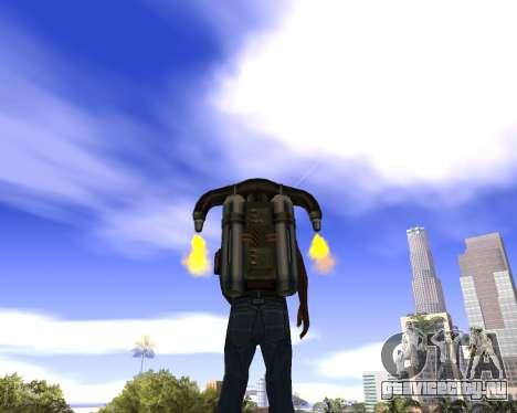 Реалистичное небо (Sky Mod) для GTA San Andreas второй скриншот