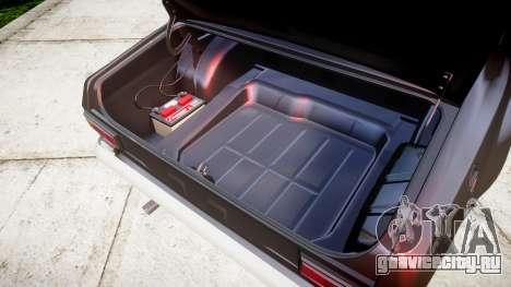Ford Escort Mk1 для GTA 4 вид изнутри