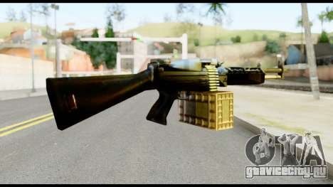 M63 from Metal Gear Solid для GTA San Andreas