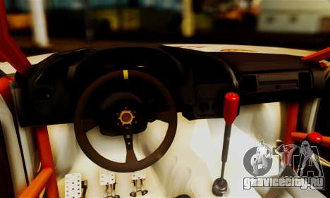 BMW M3 E36 Darnitsa Bandits для GTA San Andreas вид изнутри