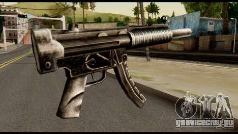 MP5 SD from Max Payne для GTA San Andreas второй скриншот