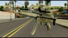 MP5 from Max Payne для GTA San Andreas