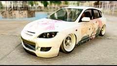 Mazda Speed 3 [Sakura Trick Itasha]
