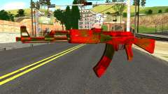 AK47 with Blood для GTA San Andreas