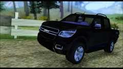 Chevrolet S10 LTZ 2014 для GTA San Andreas
