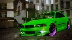 BMW M3 E46 MILKA для GTA San Andreas