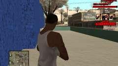 C-HUD Raisers для GTA San Andreas