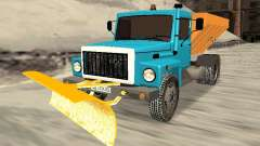 ГАЗ 3309 Снегоуборочная