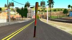 Baseball Bat with Blood для GTA San Andreas