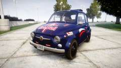 Fiat 695 Abarth SS Assetto Corse 1970 Red Bull для GTA 4