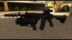 HK416 M320 Devgru для GTA San Andreas