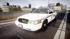 Ford Crown Victoria Canada Police [ELS] для GTA 4