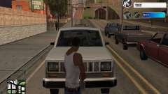 C-HUD by SampHack v.22 для GTA San Andreas