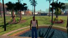 Graphic Mod Eazy v1.2 для слабых ПК для GTA San Andreas