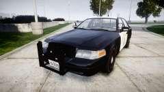 Ford Crown Victoria Highway Patrol [ELS] Slickto для GTA 4