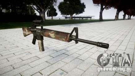 Винтовка M16A2 [optical] berlin для GTA 4