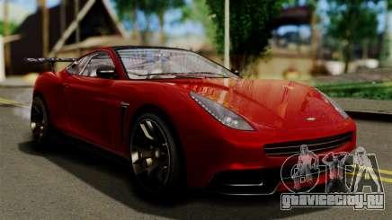 GTA 5 Dewbauchee Massacro Racecar (IVF) для GTA San Andreas