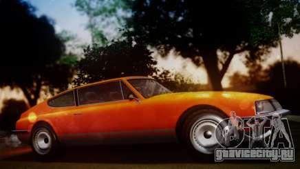 GTA 5 Lampadati Pigalle SA Plate для GTA San Andreas