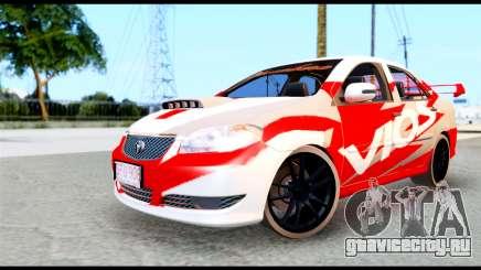 Toyota Vios TRD Racing для GTA San Andreas
