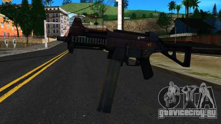 UMP45 from Battlefield 4 v2 для GTA San Andreas