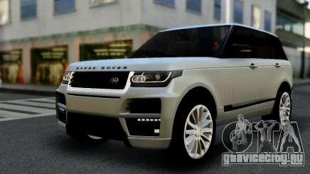Range Rover IV 3.0 AT для GTA San Andreas