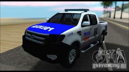 Ford Ranger P.B.A 2015 Text4 для GTA San Andreas