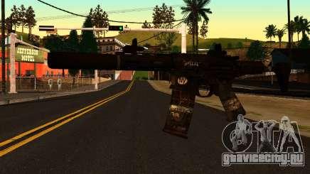 HoneyBadger from CoD Ghosts v2 для GTA San Andreas