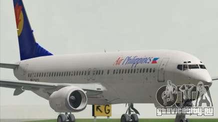 Boeing 737-800 Air Philippines для GTA San Andreas