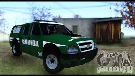 Chevrolet S-10 Gendarmeria для GTA San Andreas